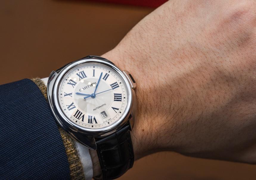 Replica Cartier Cle de Cartier In Oro Bianco