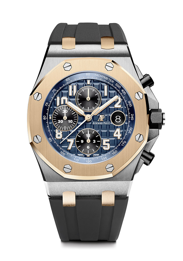 Repliche Audemars Piguet Royal Oak Offshore Special Edition Bucherer Blue