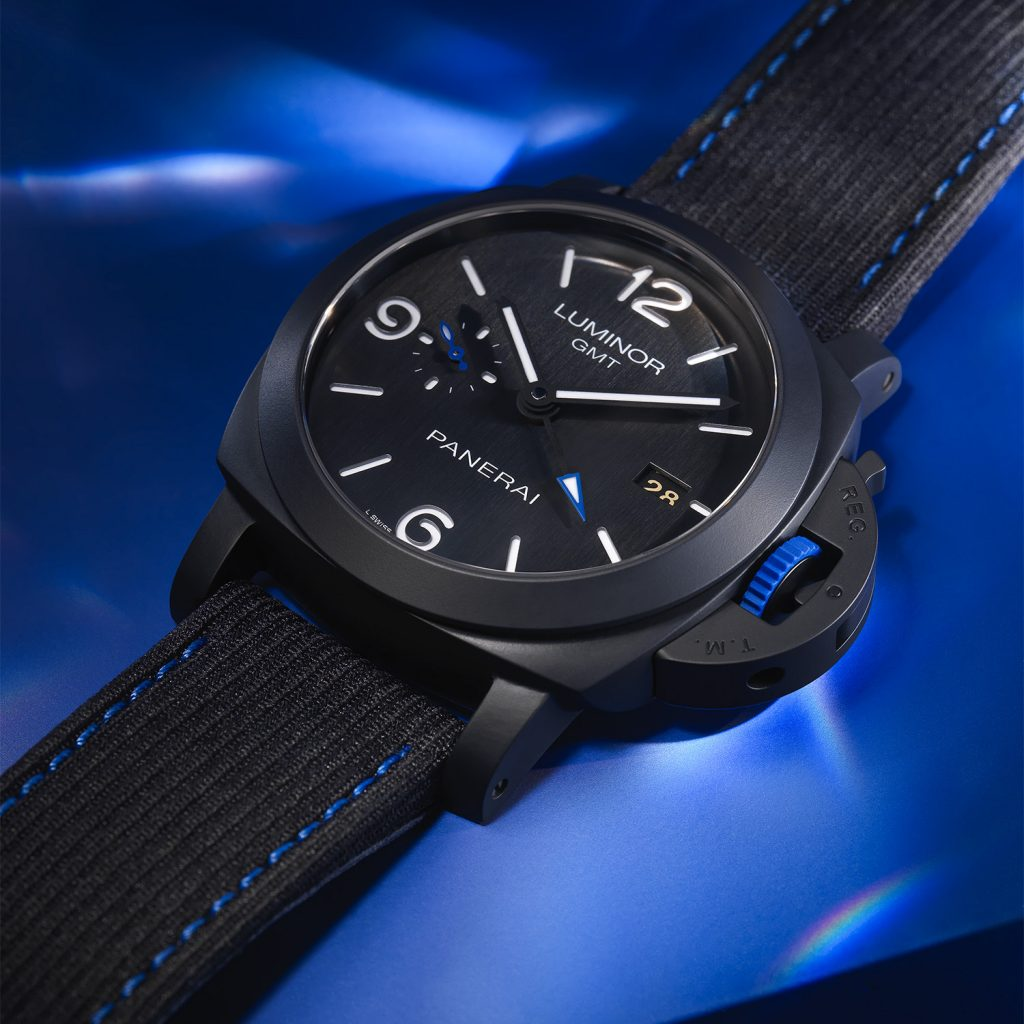 PAM01176 Panerai Luminor GMT-Bucherer BLUE Replica