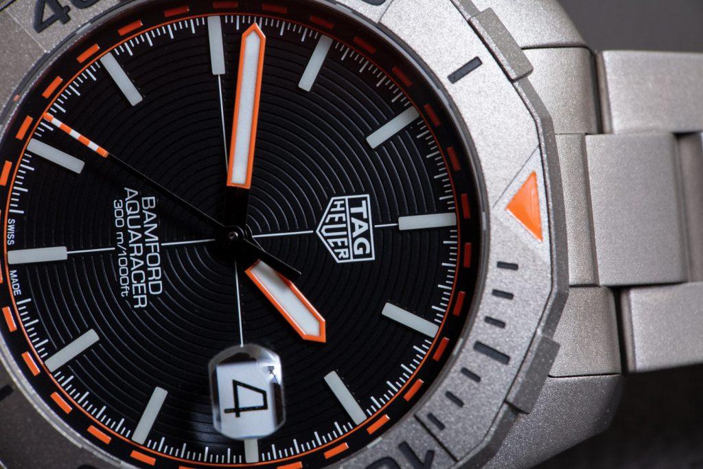 Replica Orologio TAG Heuer Aquaracer x Bamford Titanium