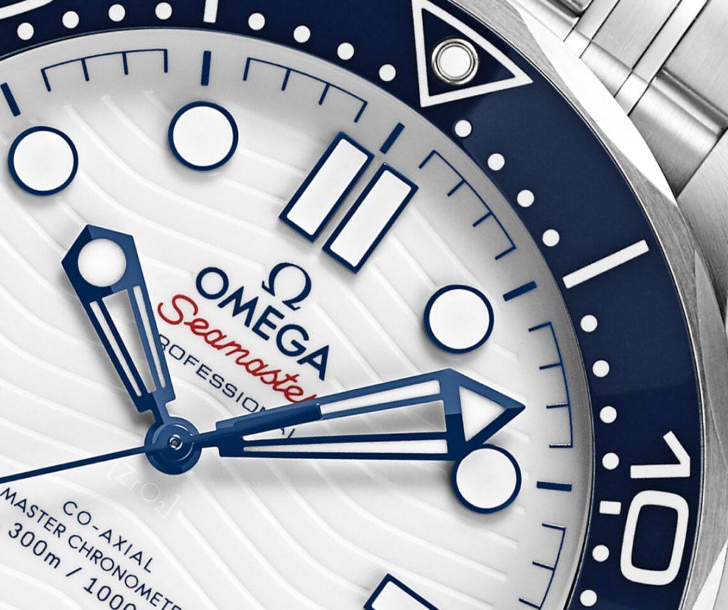 Omega Seamaster Diver 300M Tokyo 2020 Replica